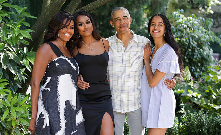 Sasha & Malia Obama Are 'Sick Of' Quarantining with Parents, Says Mom Michelle!