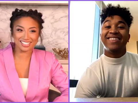 DWTS' Brandon Armstrong Knows What He Wants in a Girl, and Jeannie Has His Back!