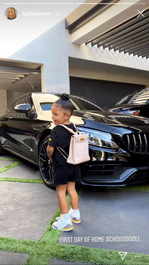 Stormi goes to school!