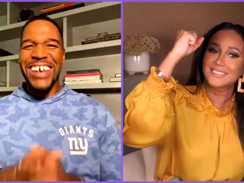 Full Interview: Michael Strahan Has a New Clothing Line