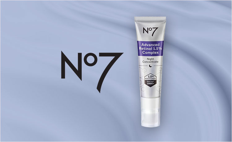 Transform Skin with No7 Advanced Retinol Night Concentrate