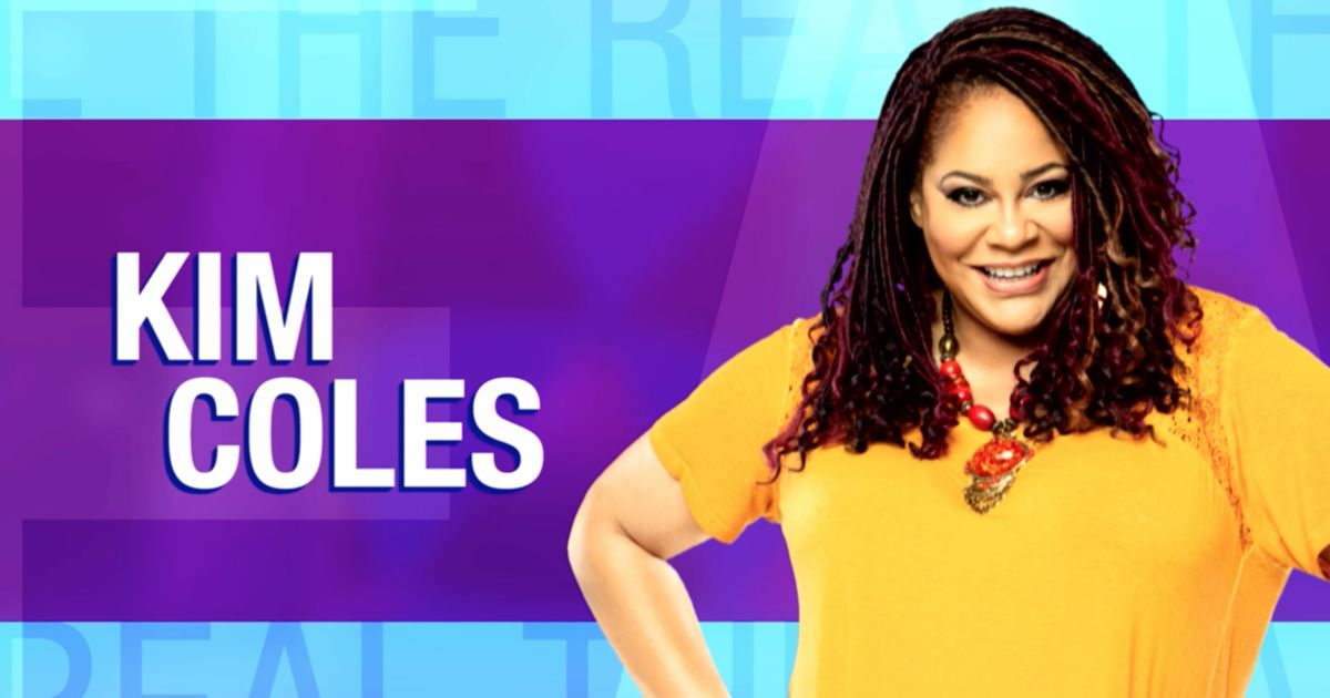 Thursday on 'The Real': Kim Coles