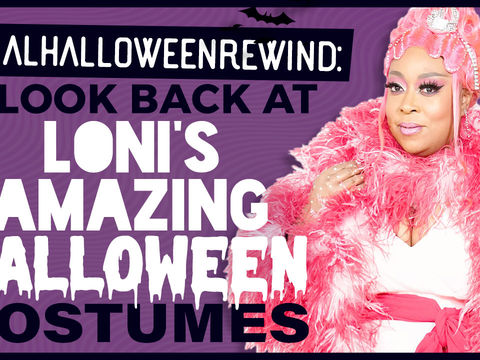 Web Exclusive: A Look Back at Loni's Amazing Halloween Costumes