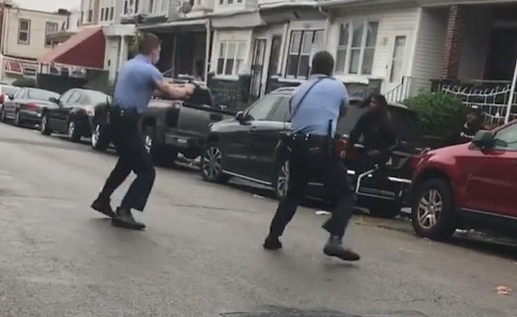 Philly Cops Injured During Protests Over Fatal Shooting of Black Man Who Police Say Wielded Knife