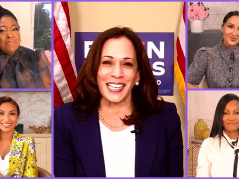Sen. Kamala Harris: Are Long Voter Lines a Sign of Democracy or Voter…