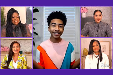 Miles Brown Dishes on His Debut Album 'We the Future'! [WATCH]