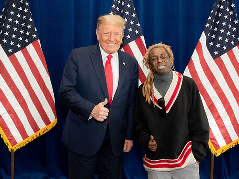 Celebrities React to Lil Wayne's Meeting with Donald Trump