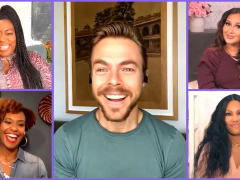 Derek Hough on Being Featured in People's Sexiest Man Alive Issue