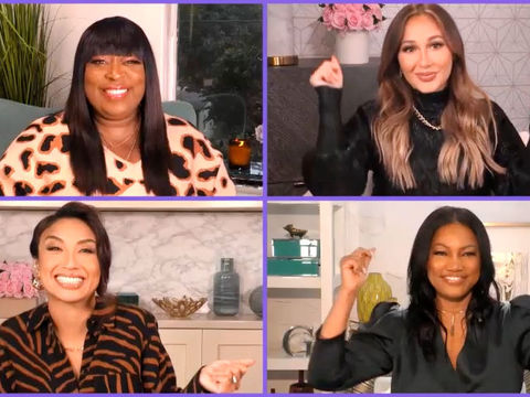 'The Real' Co-Hosts Welcome Jeannie Back!