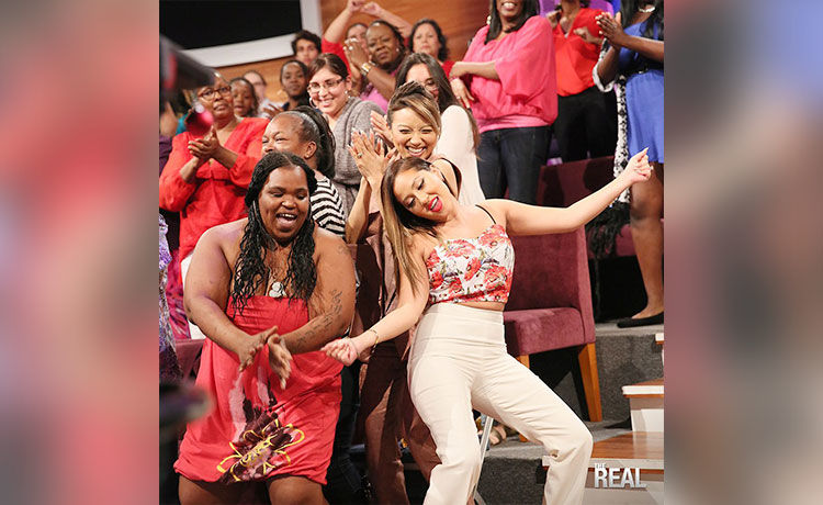 The Best Dance Moments on 'The Real'!