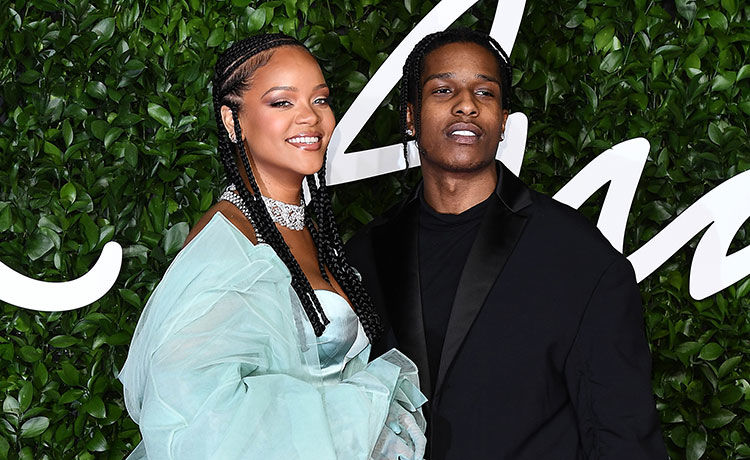 Rihanna Is 'Very Happy' with Rumored Boyfriend A$AP Rocky!