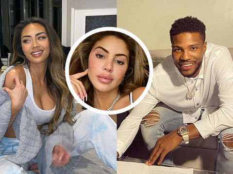 Malik Beasley's Wife Montana Yao Files for Divorce After Larsa Pippen Photos