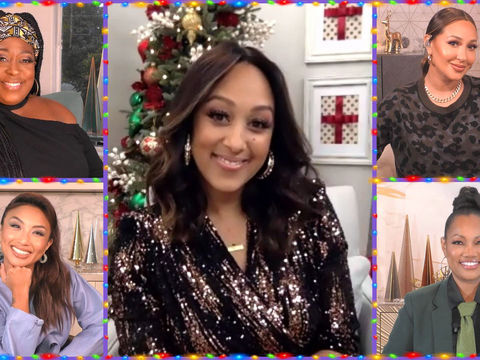 Tamera Mowry-Housley Is Here, and Guess What She Misses Most About Each Host?