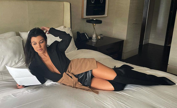 Kourtney Kardashian Is Starring in a New Movie!