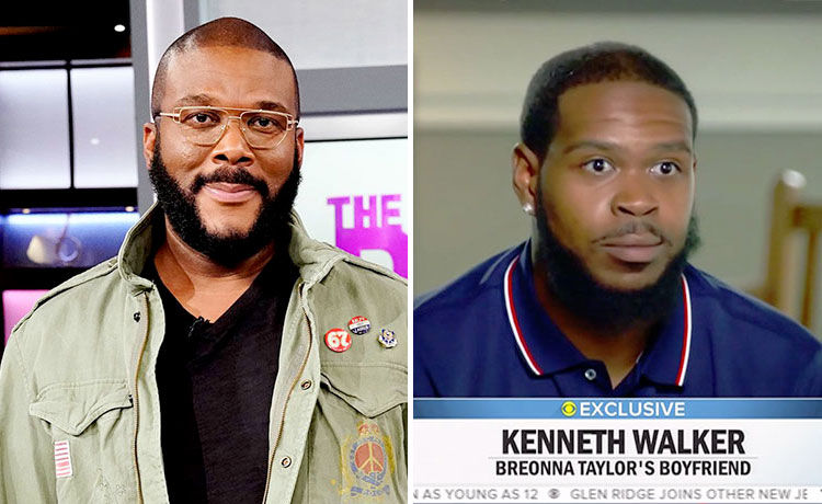 Tyler Perry Donates $100K to Breonna Taylor's BF Kenneth Walker's Defense