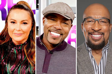 Guest Co-Host Angie Martinez, Will Packer, Nephew Tommy