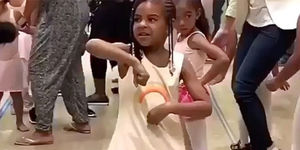 Blue Ivy Carter Channels Aunt Solange in Viral Dance!
