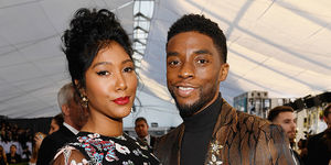 Chadwick Boseman's Widow Simone Tearfully Pays Tribute to Late Actor at…