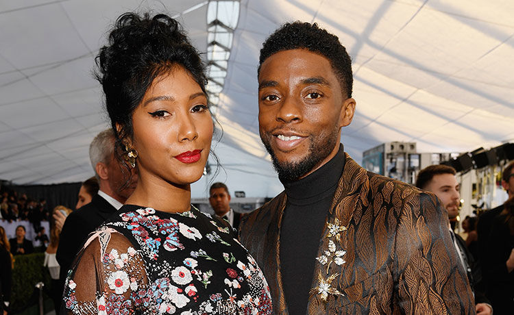 Chadwick Boseman's Widow Simone Tearfully Pays Tribute to Late Actor at Gotham Awards