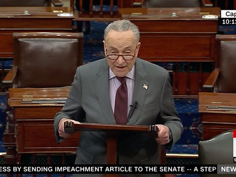 Twitter Goes Crazy Over Senator Chuck Schumer's 'Insurrection' Gaffe