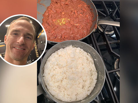 Drew Brees' Red Beans and Rice Has the Internet Talking!