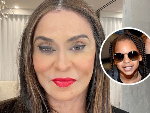 Tina Knowles-Lawson Gets Glam Makeover from Granddaughter Blue Ivy!