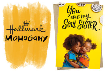 Celebrate Black History Month with Hallmark Mahogany