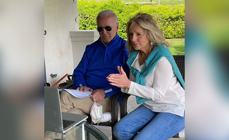 President Joe Biden Calls First Lady Dr. Jill the 'Glue' of Their Family in 1st White House Interview