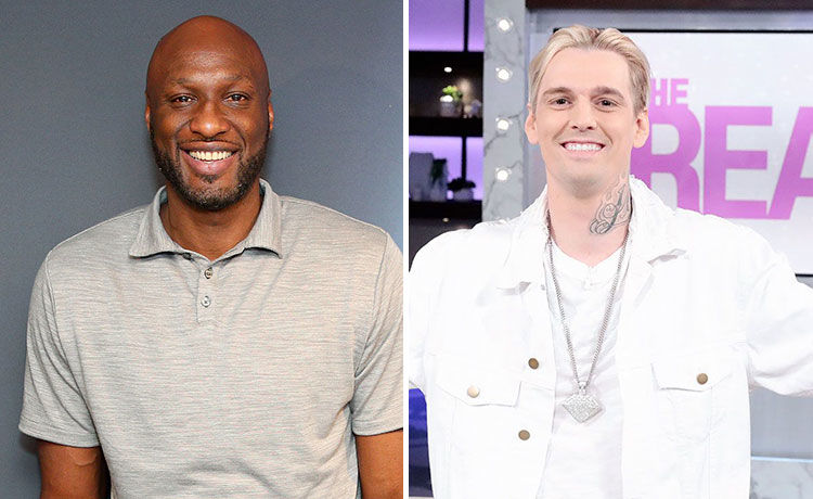 Lamar Odom & Aaron Carter to Fight in Celeb Boxing Match!