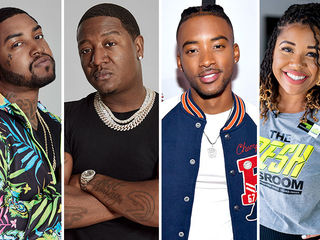 Scrappy, Yung Joc, Algee Smith, Stephanie Boyce