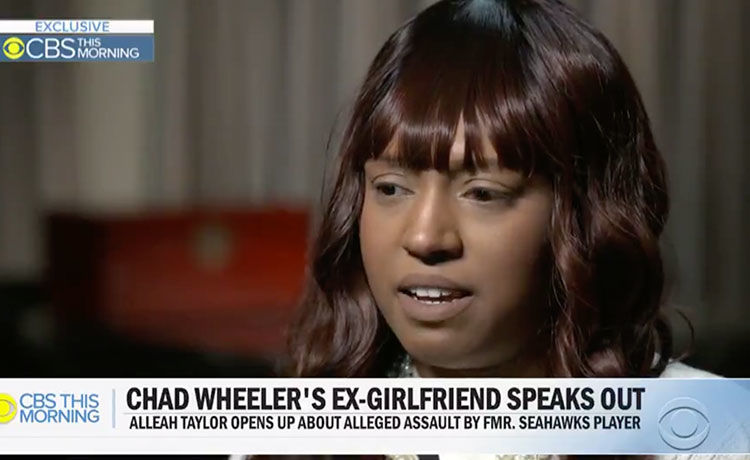 Chad Wheeler's Ex-Girlfriend Speaks Out on Alleged Assault