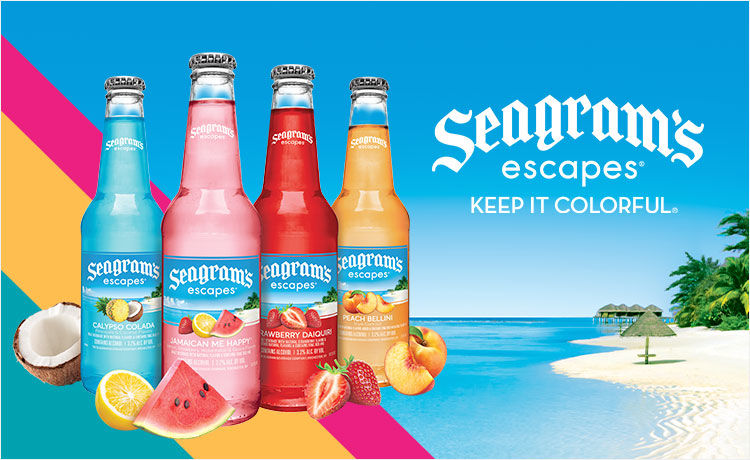 Sip Happiness with Seagram's Escape