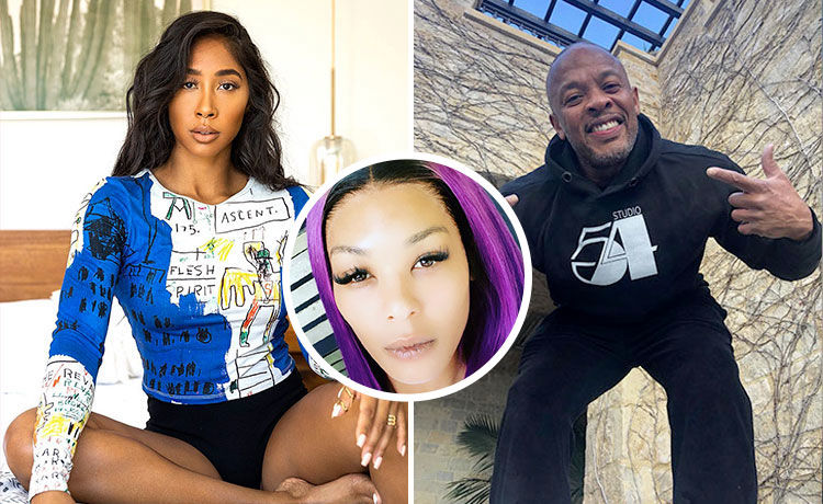 Moniece Slaughter Alleges Dr. Dre Is a 'Woman Beater' Who Sent Her 'Threat'
