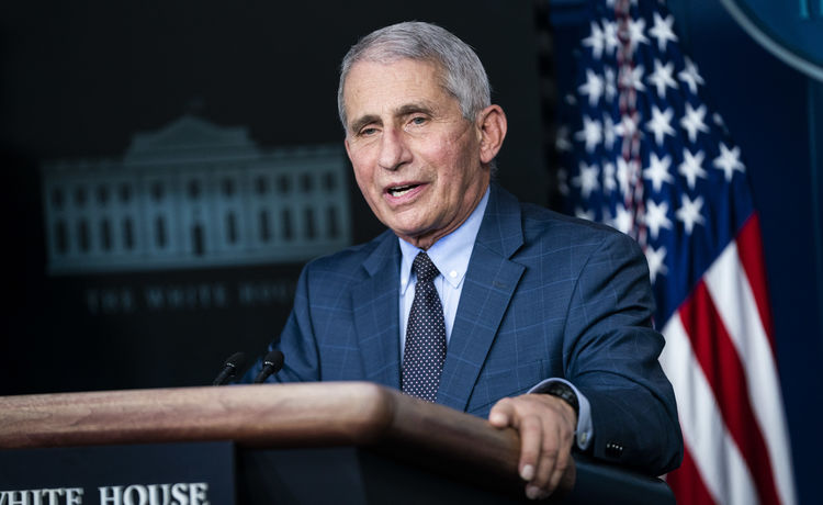 Dr. Anthony Fauci Says It's 'Possible' Americans Will Still Be Wearing Masks in 2022
