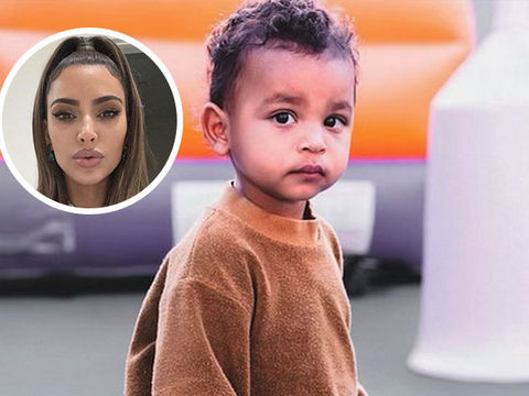 Kim Kardashian Shares Adorable Photo of Son Psalm Amid Divorce