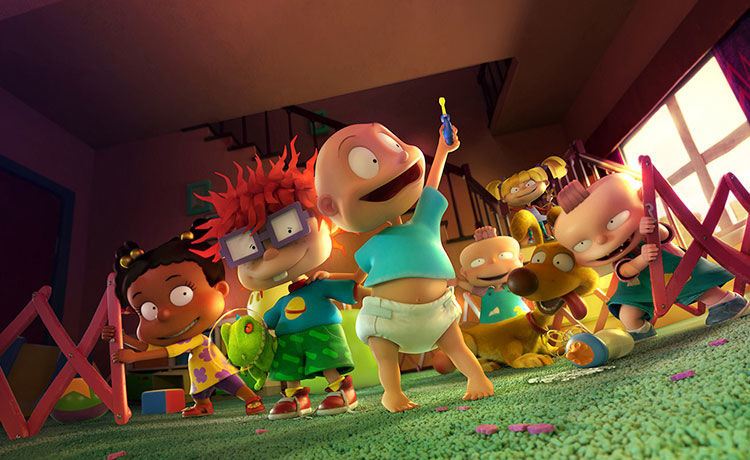 The 'Rugrats' Are Back!