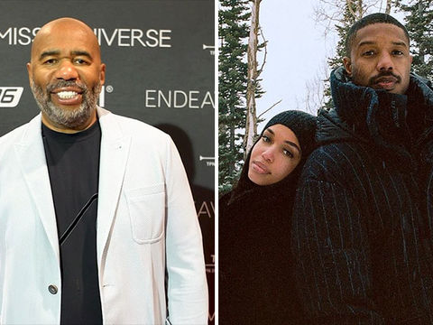Steve Harvey Reveals What He Thinks About Daughter Lori's BF Michael B.…