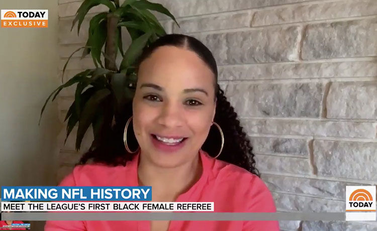 Maia Chaka Named 1st Black Female Official in the NFL!