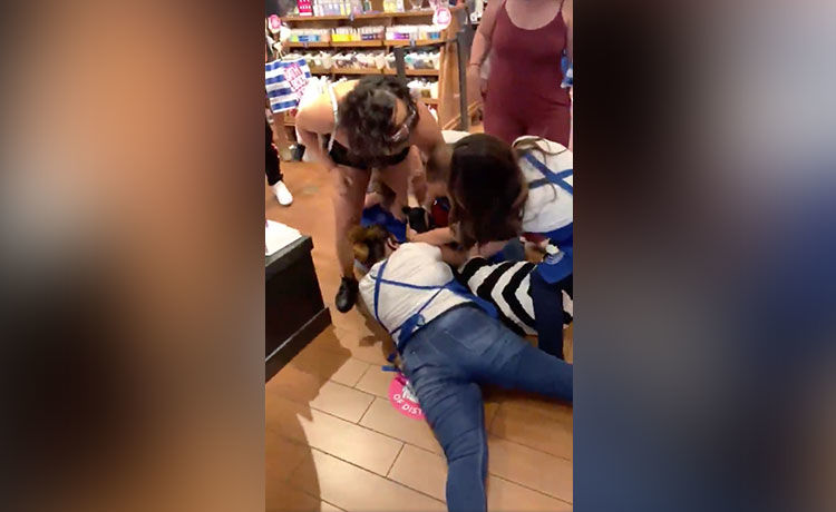 Two Women Charged After Bath & Body Works Brawl