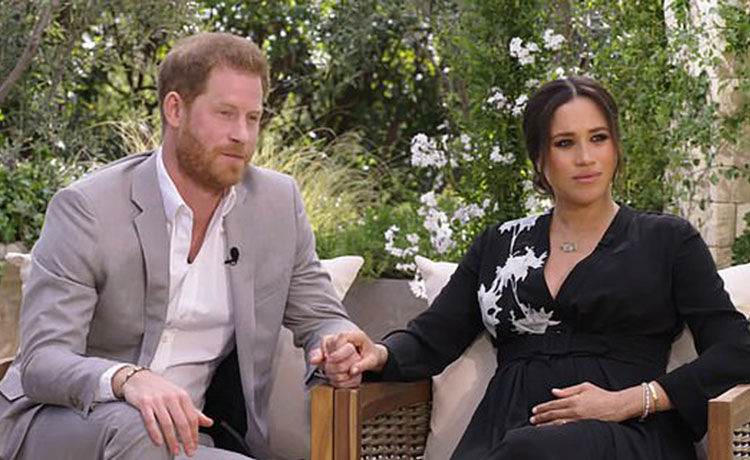 Prince Harry Confirms the Queen & Prince Philip Did Not Bring Up Concerns Over Archie's Skin Color