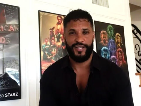 Ricky Whittle On 'American Gods,' Talks About Being Bi-Racial