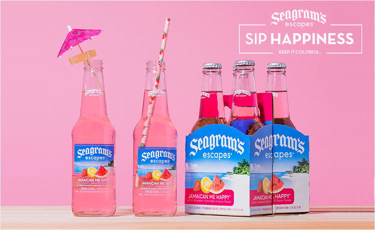 Keep It Colorful with Seagram's Escapes