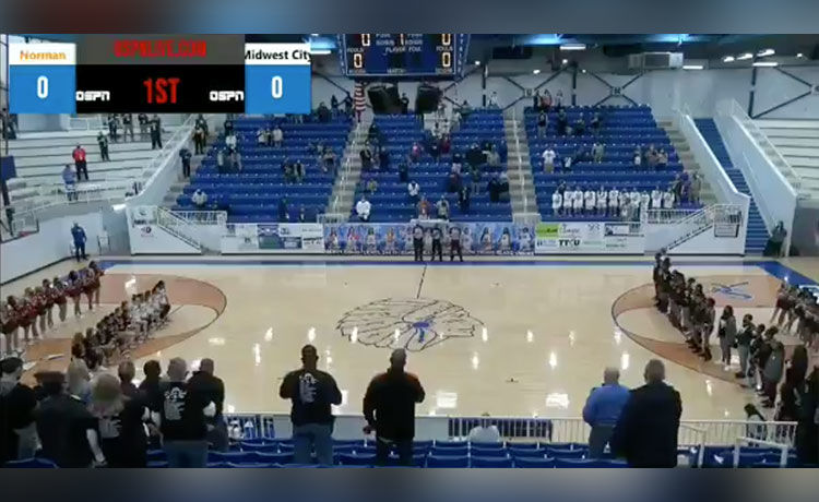 H.S. Basketball Announcer Uses Racial Slur Against Kneeling Players