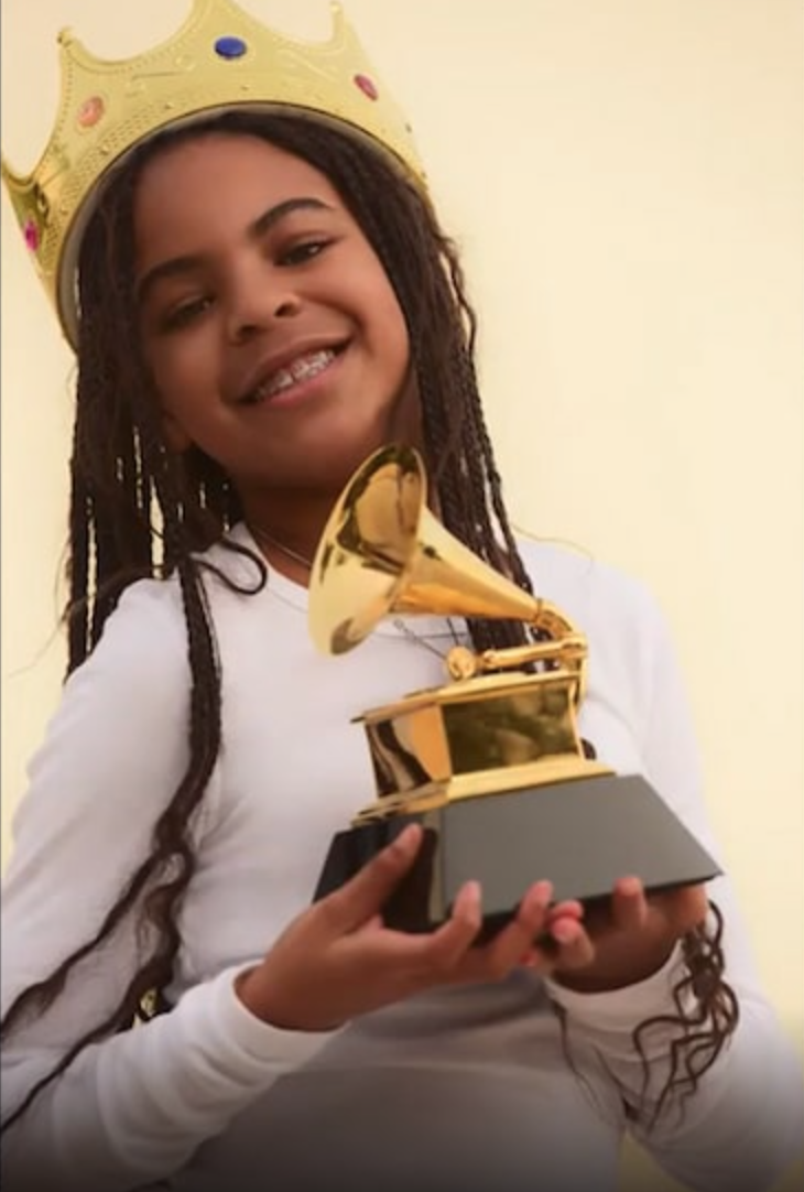 Blue Ivy and her Grammy!