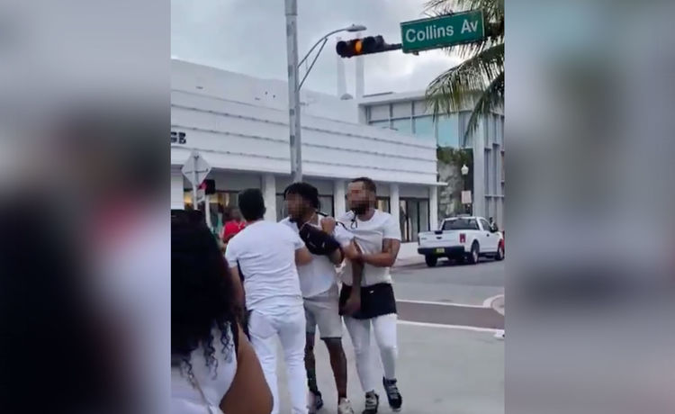 Miami Spring Breaker Allegedly Tries to Dine and Dash! WATCH!