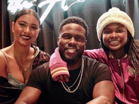 Kevin Hart Gifts Daughter a Mercedes SUV for Her 16th Birthday!