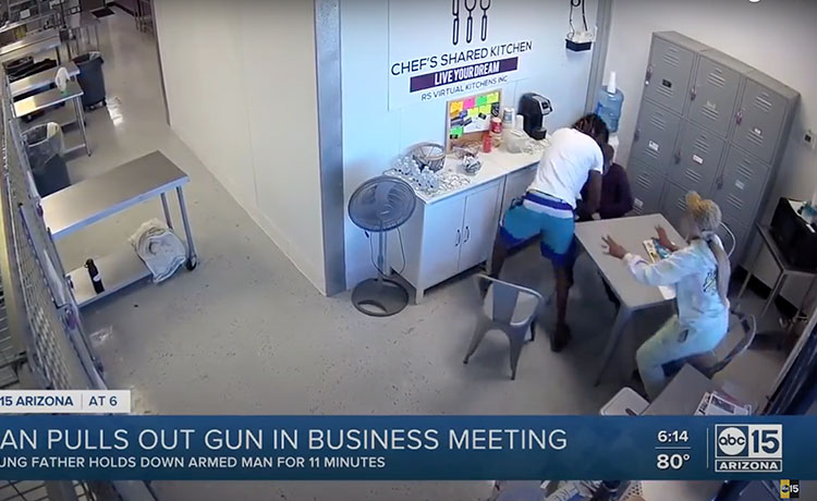 Black Food Truck Owners Demand Justice After White Man Brandishes Gun at Business Meeting