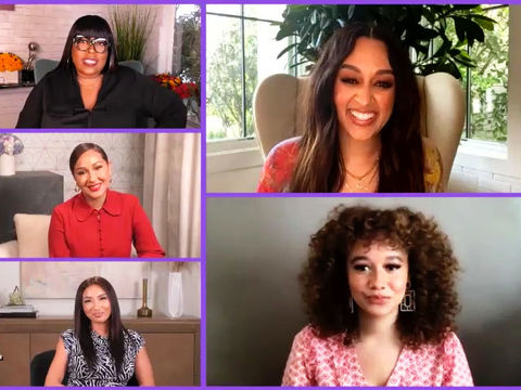 Part Two: Tia Mowry Taught Talia Jackson This Trick to Prepare for Her First…