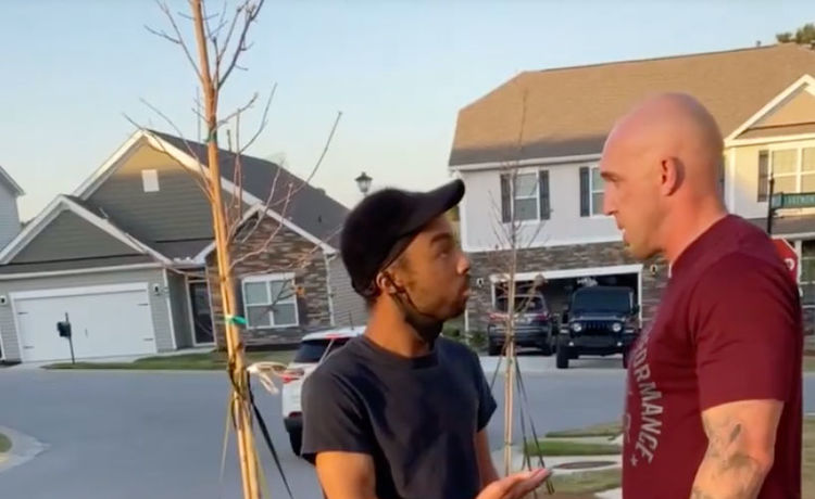 White Army Sergeant Attacks Black Man for Being in the 'Wrong Neighborhood'