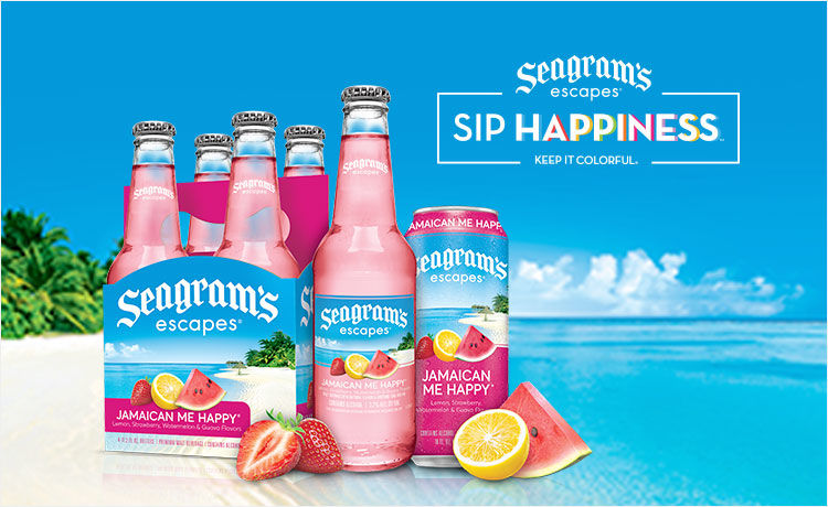 Treat Yourself with Seagram's Escapes Tropical Beverages